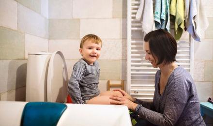 enfant propre la nuit