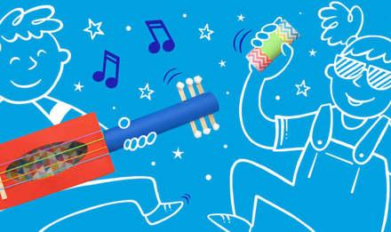 fabriquer instrument de musique