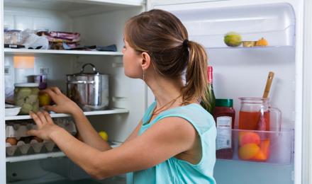 jääkaapin puhdistus