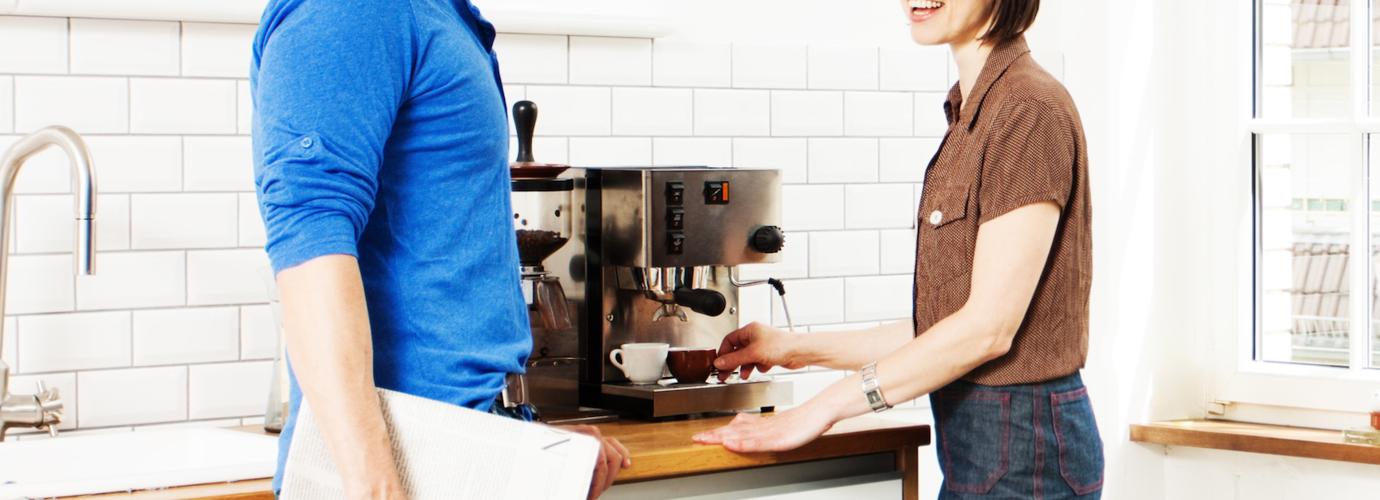 kahvinkeittimen puhdistaminen
