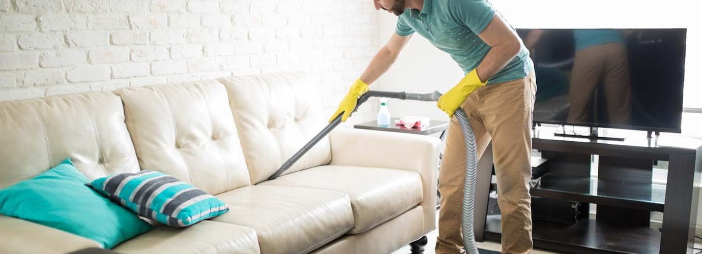 sohvan puhdistus