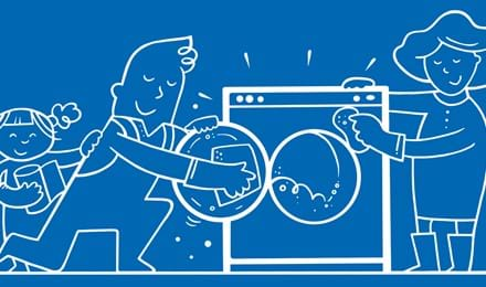5 vinkkiä pyykinpesukoneen puhdistukseen