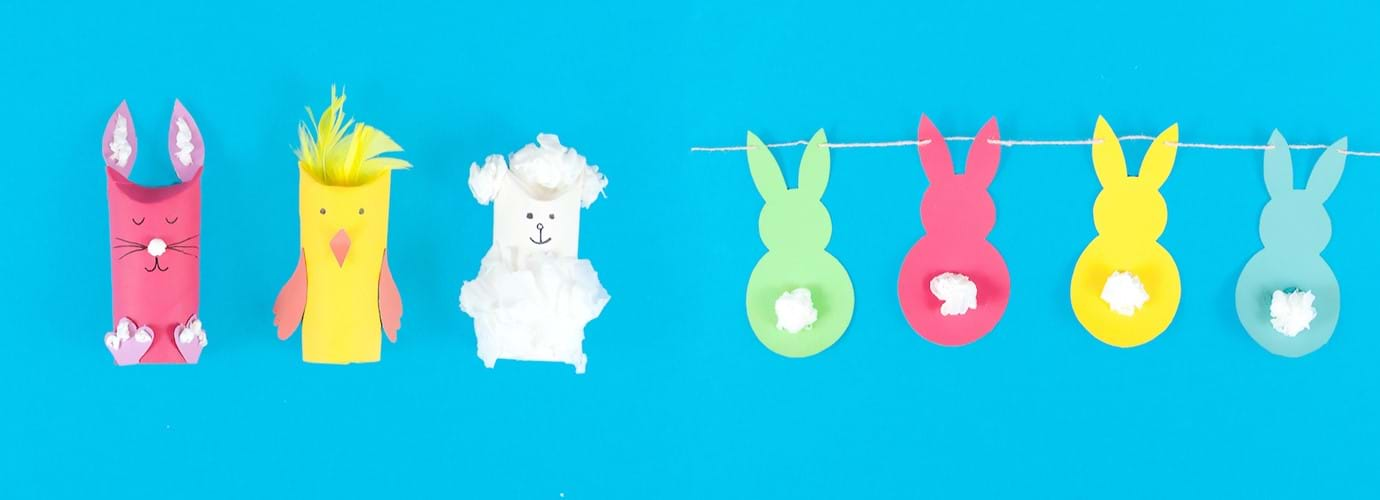 Pääsiäisaskartelua lapsille: kaksi helppoa vinkkiä