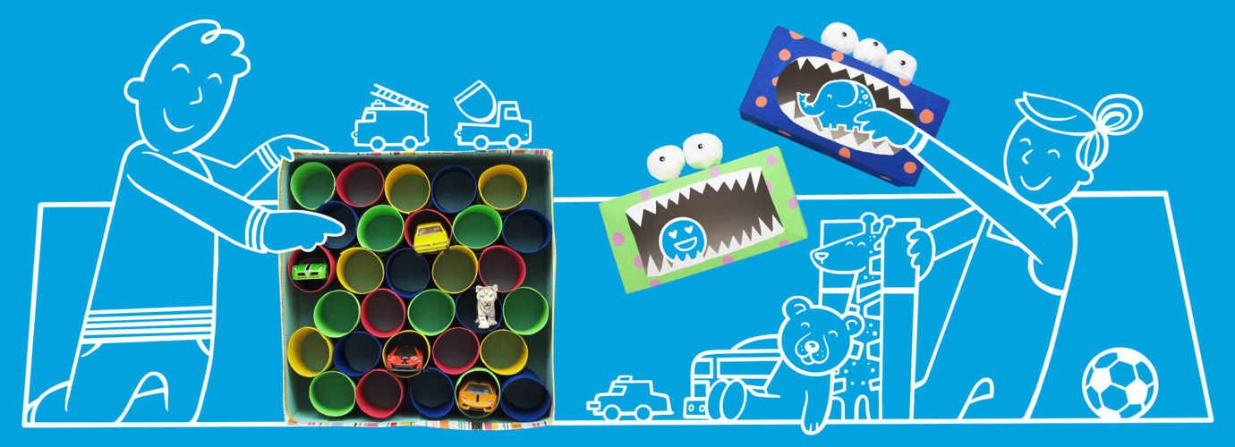 Lastenhuoneen sisustusideoita helppoa lelujen järjestelyä varten