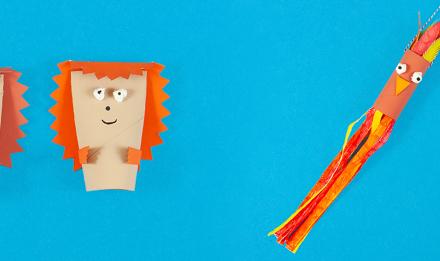 2 idées d'activités manuelles d'automne pour les enfants