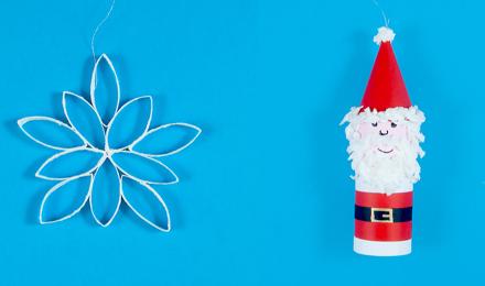 Nopeat ja helpot askarteluvinkit joulukuusen koristeluun