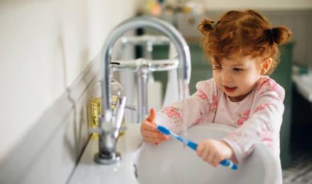 6 règles d'hygiène corporelle pour les enfants