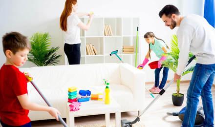 ménagères de la famille