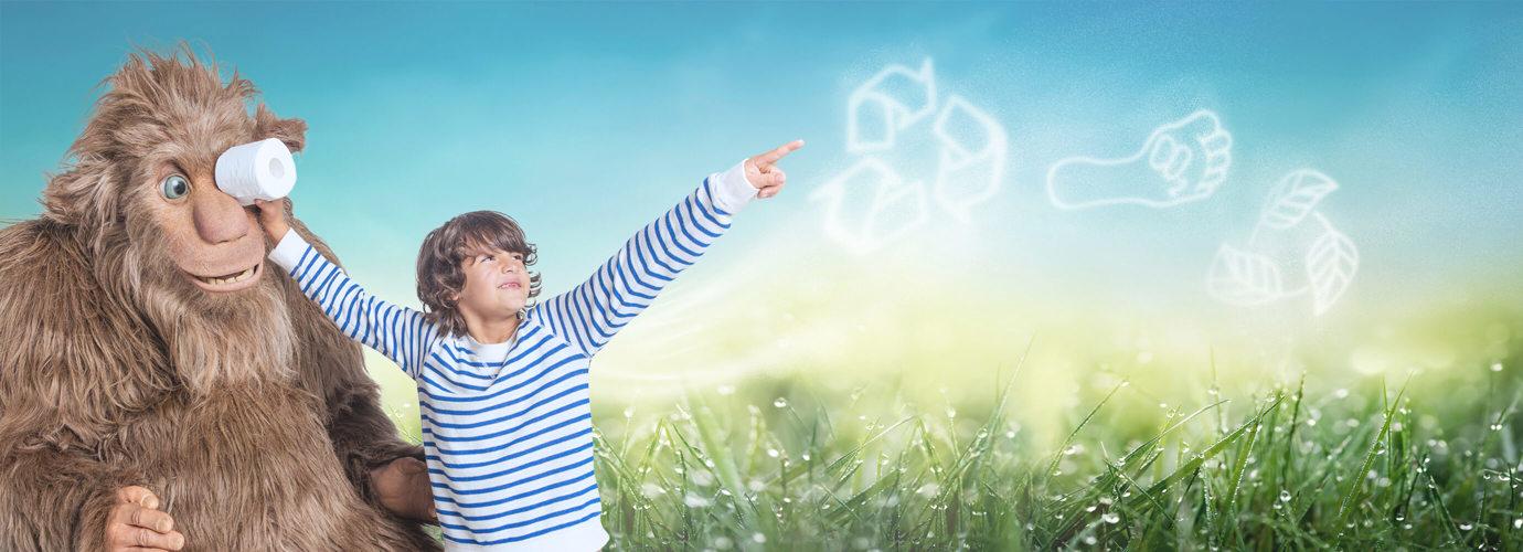 Olemme sitoutuneet vähentämään ympäristövaikutuksiamme