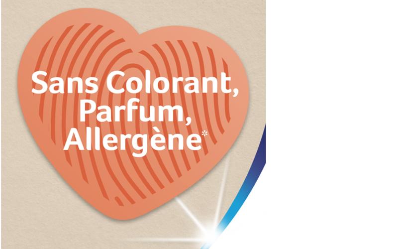 Le papier sans colorant ni parfum ajouté, sans allergène*, meilleur allié des peaux sensibles