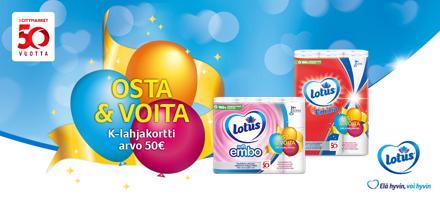 Kerää koodi Lotus Soft Embo tai Lotus Emilia kampanjapakkauksesta
