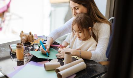 3 adorables animaux en rouleau de papier toilette à fabriquer avec les enfants